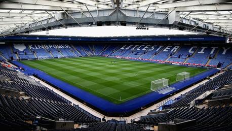 Leicester v Man City: Ticket information