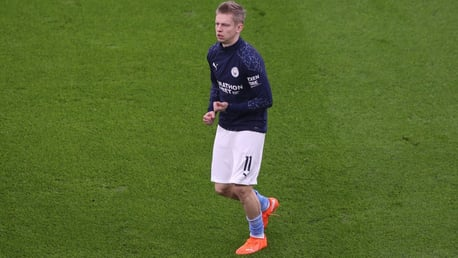 Zinchenko: 'We will learn from this defeat'