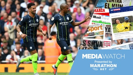 MEDIA WATCH: Kyle Walker has sent out a strong message about City's desire to win more titles