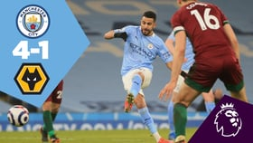City 4-1 Wolves: Full-match replay