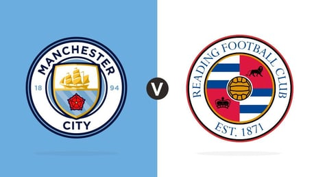 Man City v Reading: LIVE MATCH UPDATES