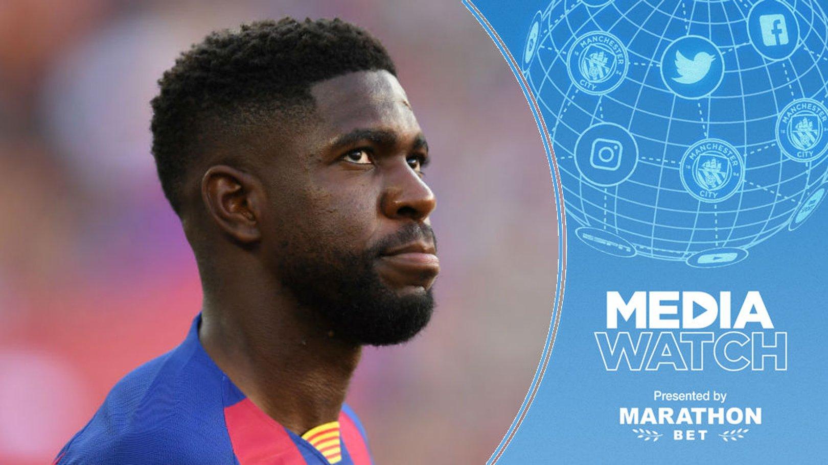 Media Watch: 'City ponder move for Barca defender'