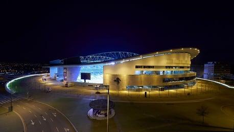 SET THE SCENE: The Estádio do Dragão ahead of kick-off...