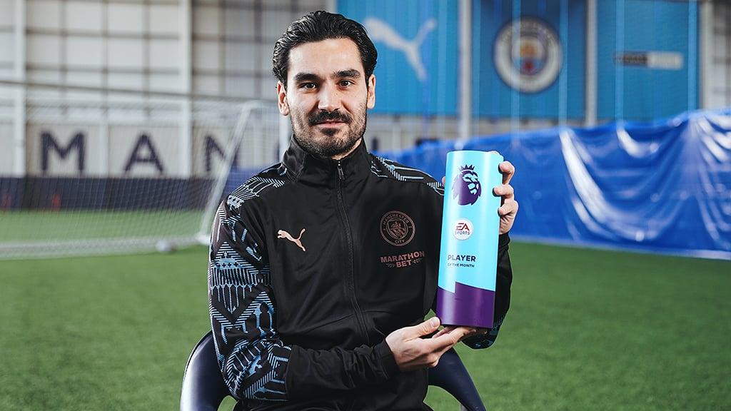 Gundogan lands Premier League POTM award