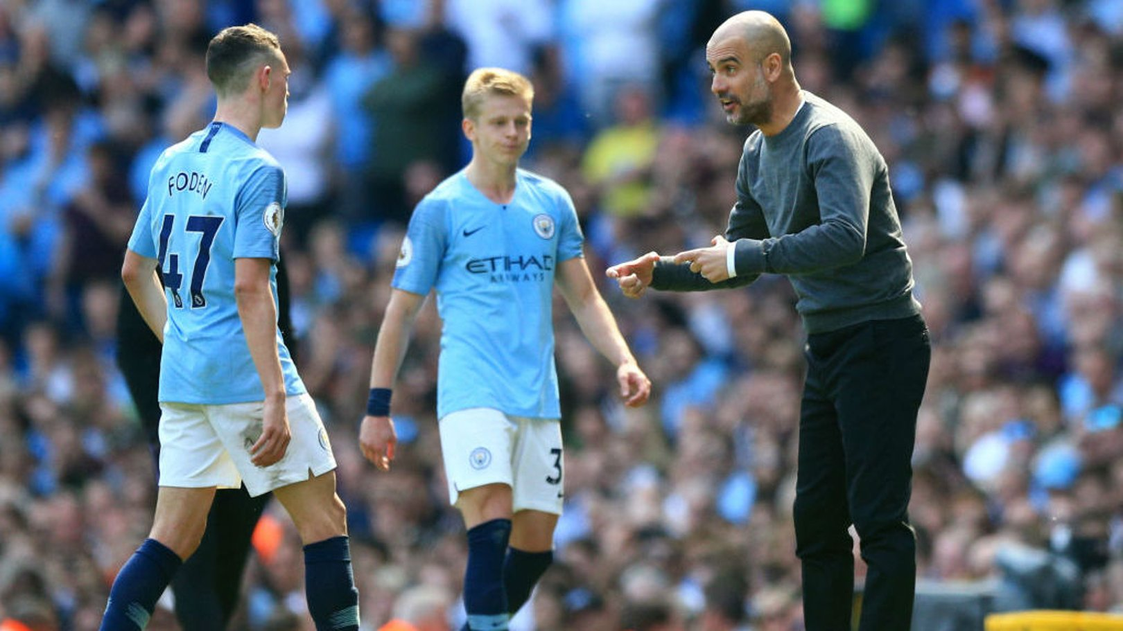PEP TALK: The boss says he loves his squad!