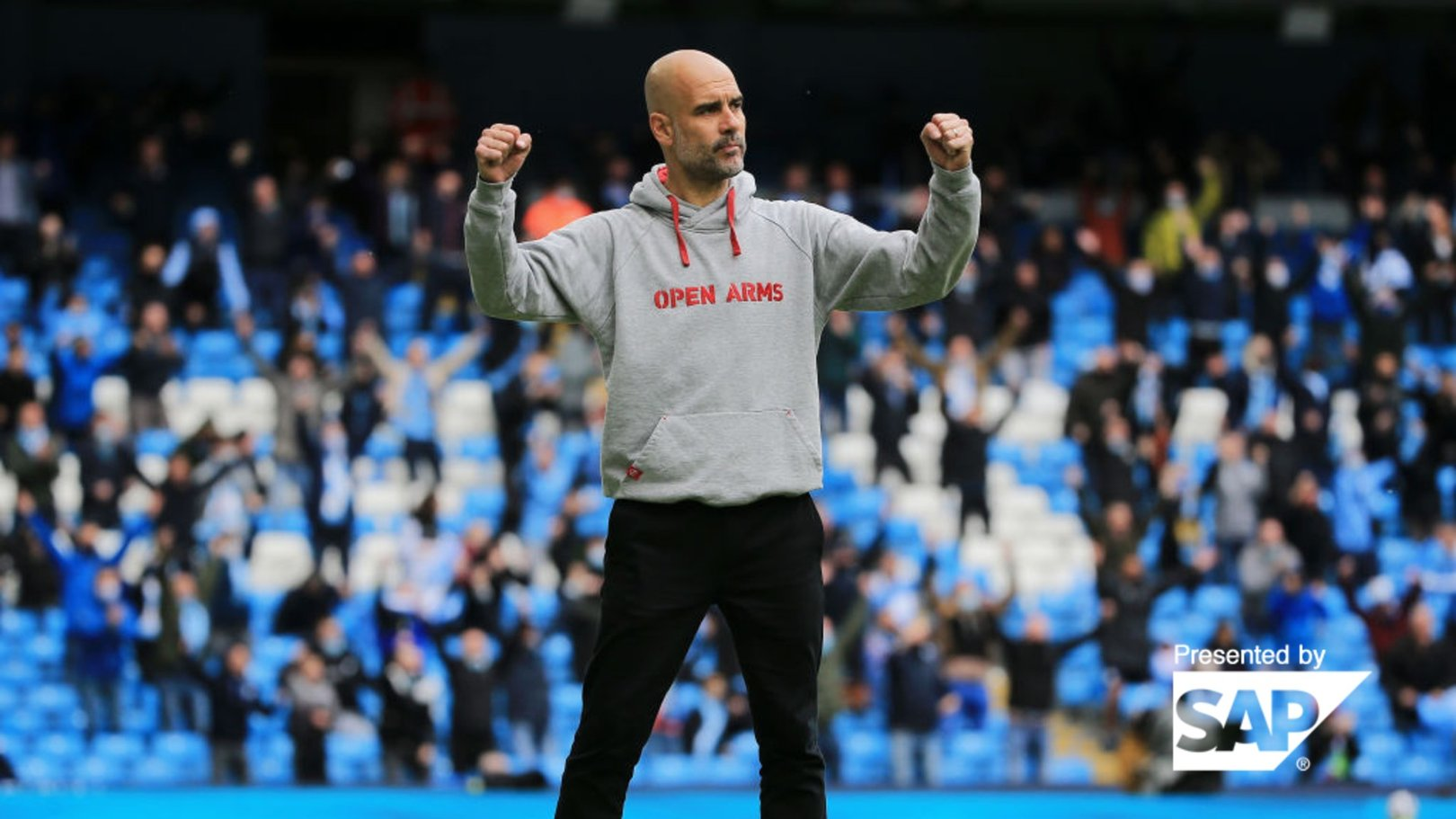 Pep's five years in numbers