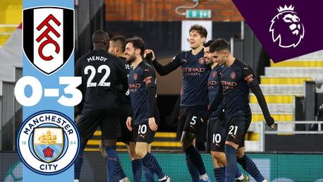 Fulham 0-3 City: resumen breve