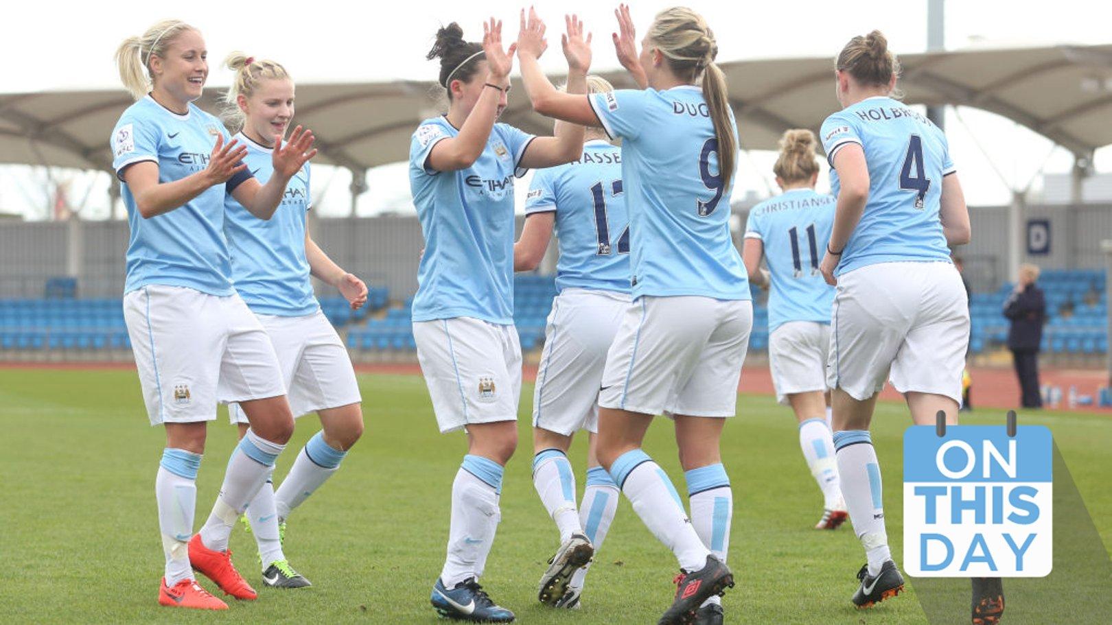 On this day: City is born & Women's winning start