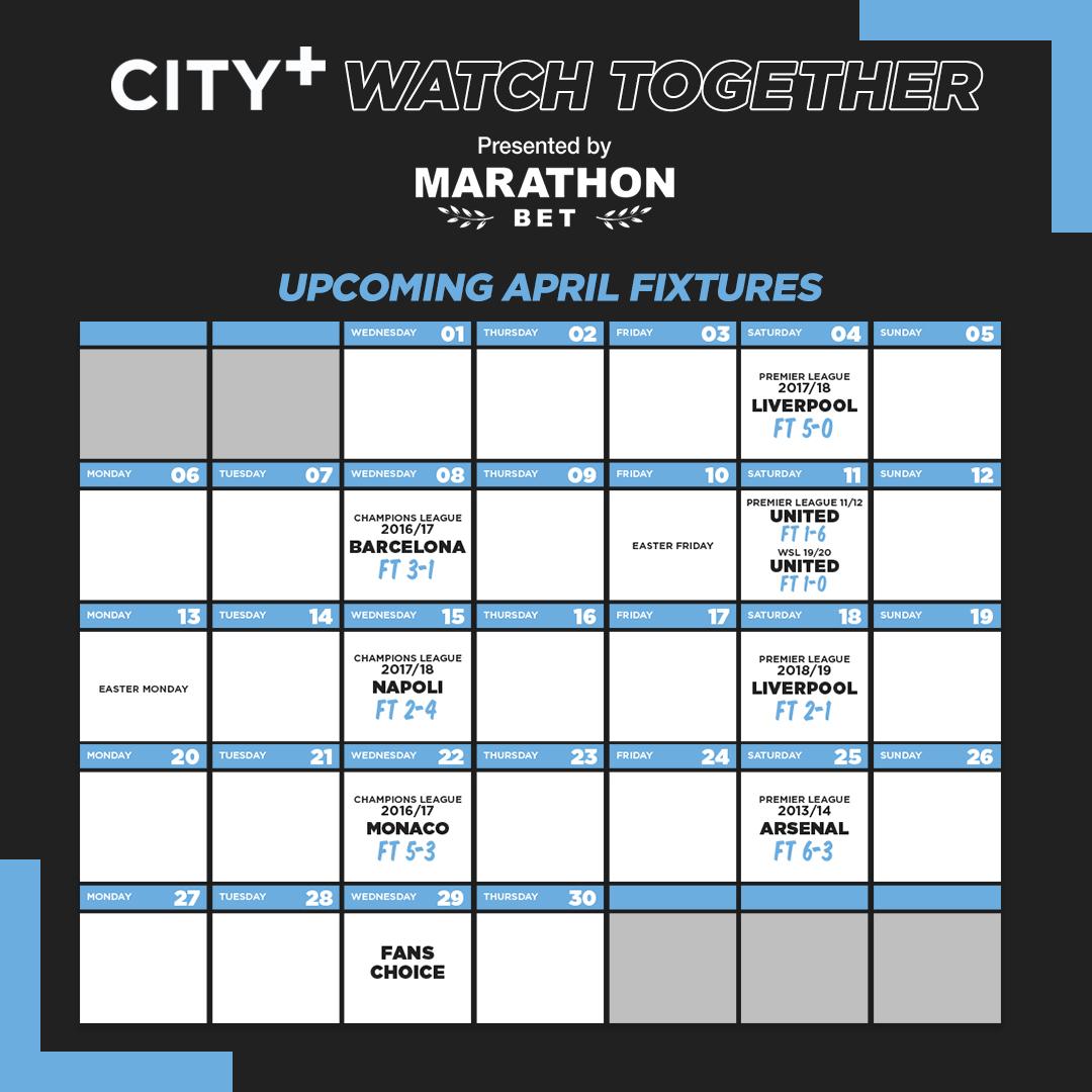 City+ Assiste Junto: Reviva momentos mágicos do City!