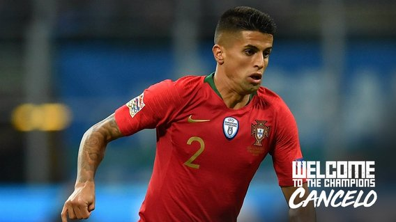 SIGNED AND SEALED: Joao Cancelo is a Manchester City player.
