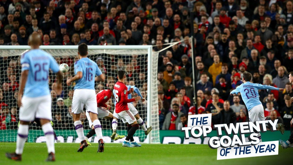 City's top 20 goals of 2020