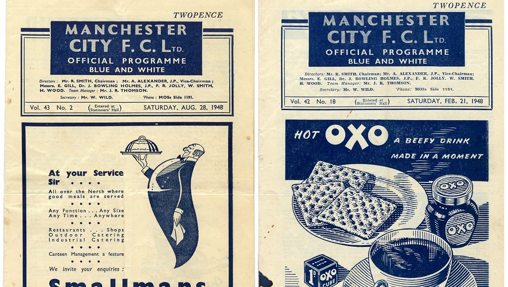 AD ONS : The adverts were a tad different 74 years ago....