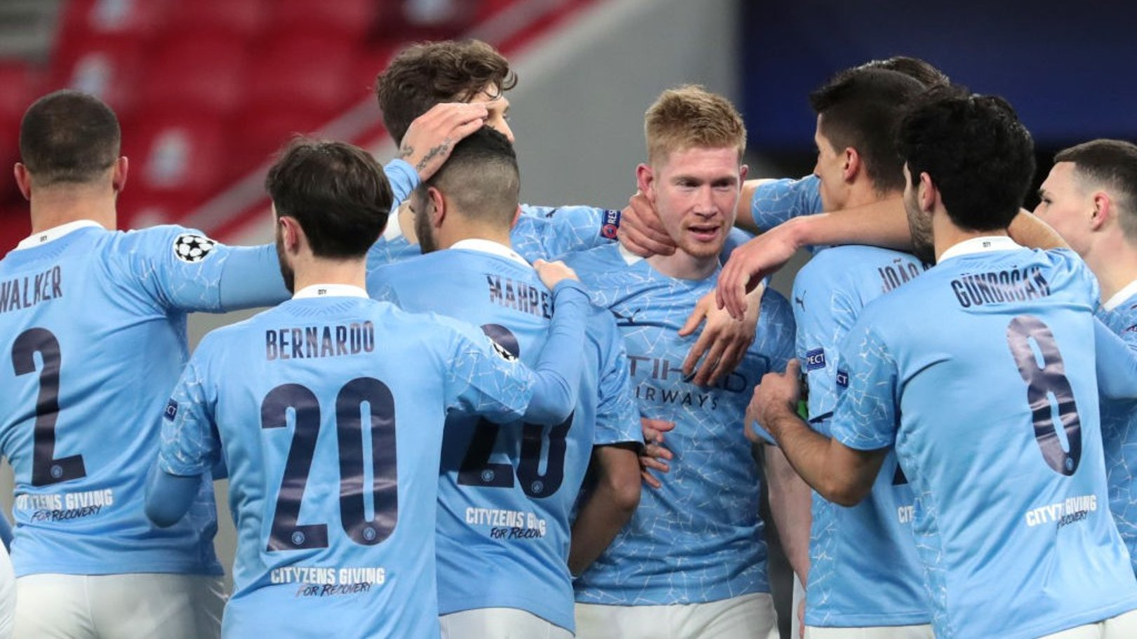 Collective effort: City's Premier League minutes played so far
