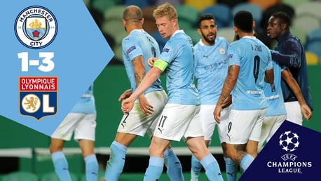City v Lyon: Full match replay