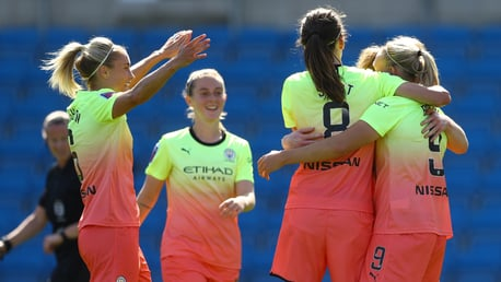 ON FIRE: City have three wins from three