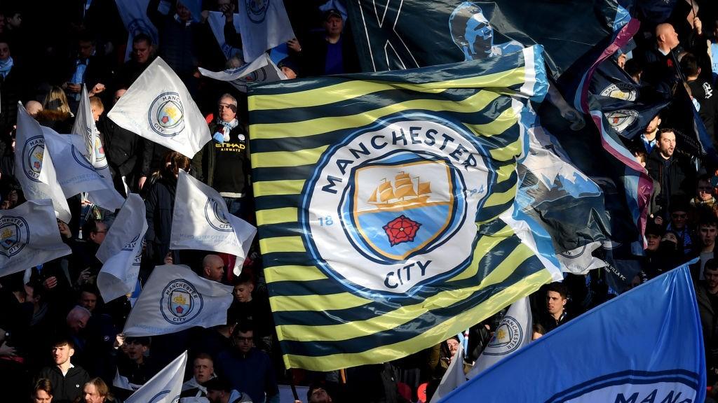 Affichez votre drapeau de City à Wembley