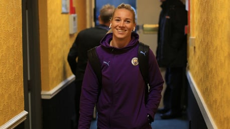 AERIAL THREAT: Gemma Bonner wants City to score more goals from set-pieces.