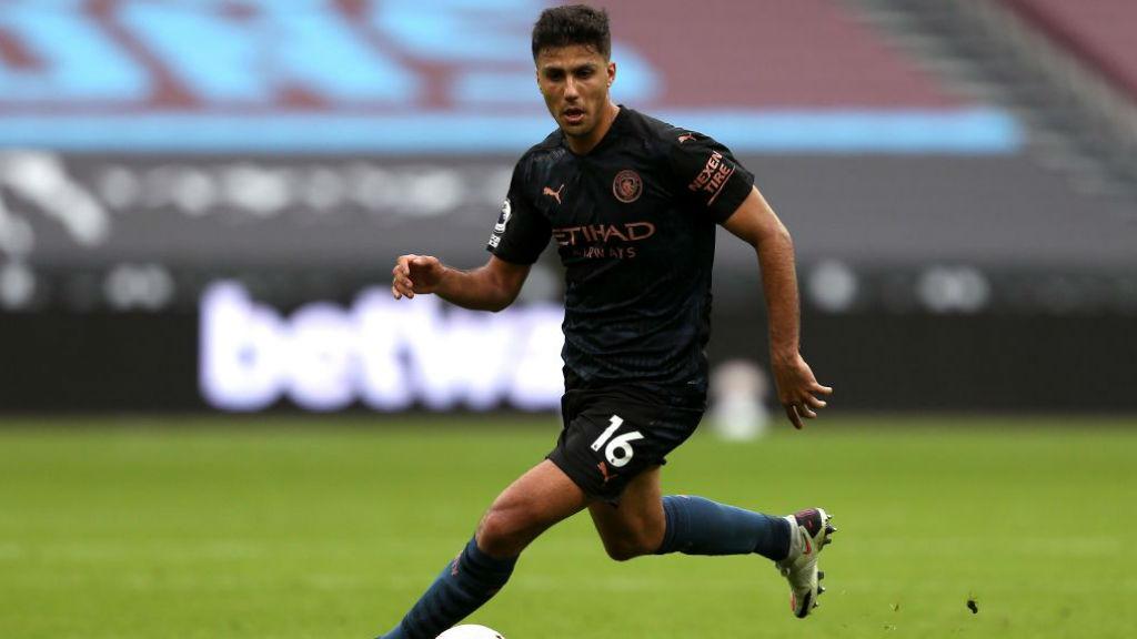'Iron man' Rodrigo playing a crucial role for City