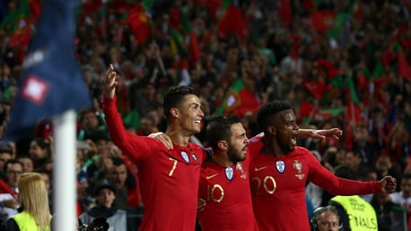 Bernardo provides assist for Portugal winner