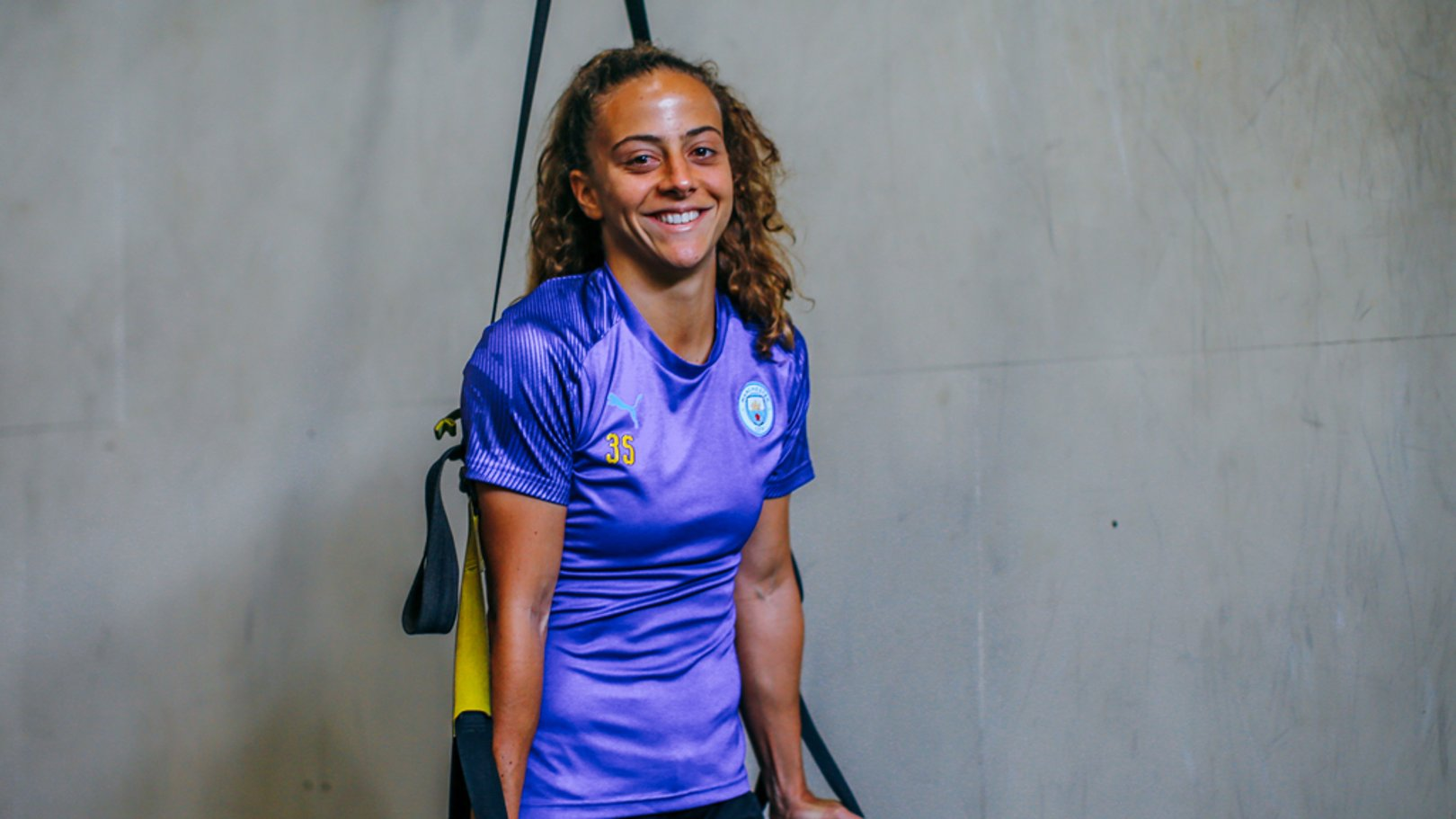 MERRY MATILDE: New recruit Matilde Fidalgo is settling in well on and off the pitch