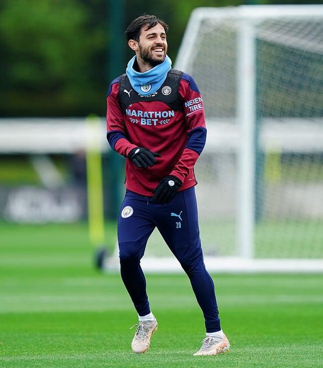 PORTUGEEZER: Bernardo Silva in high spirits!