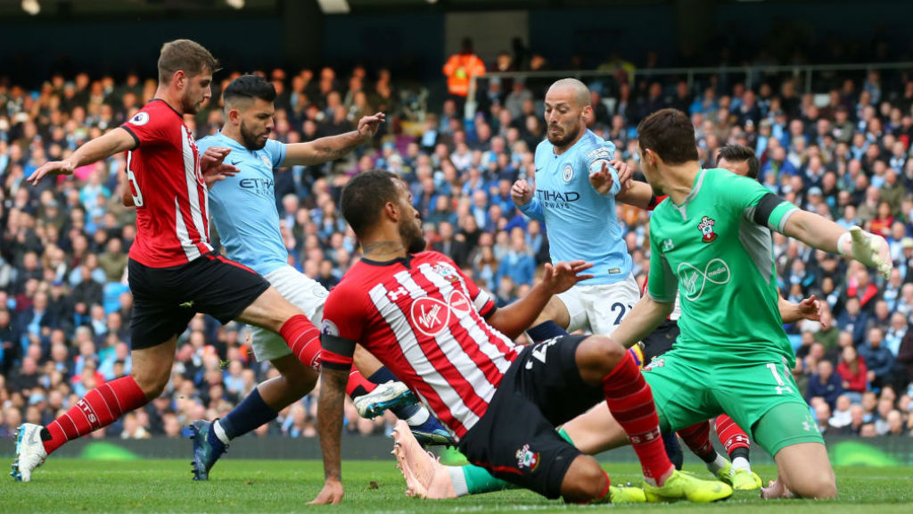 Blues go clear at the top after Saints rout