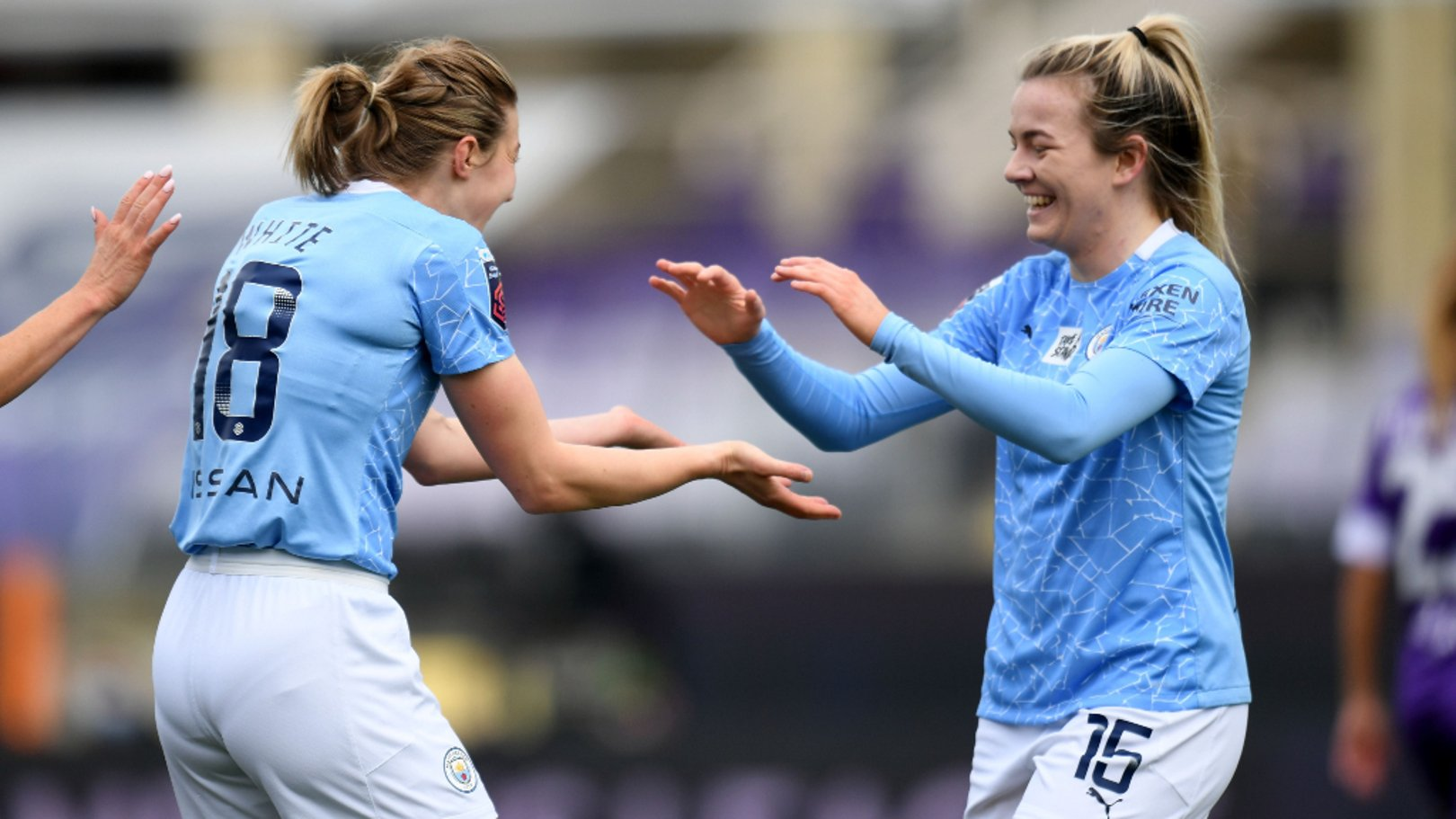 City duo shortlisted for PFA WSL Player of the Month
