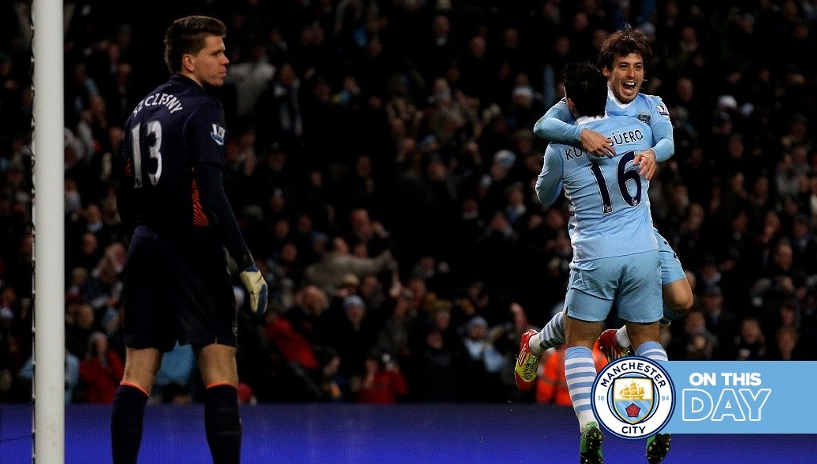 On this day: Silva bullet downs Gunners