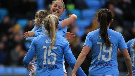 FA WSL highlights: City 3-3 Chelsea