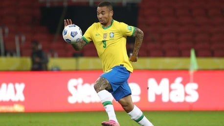 Gabriel Jesus helps Brazil maintain perfect World Cup qualifying record