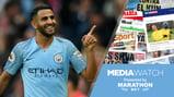 STAR MAN: Riyad Mahrez produced a fine display against Burnley...