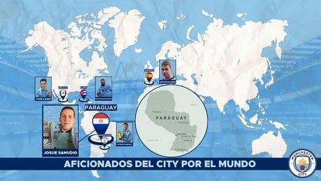 Fanáticos del City: Josue Samudio