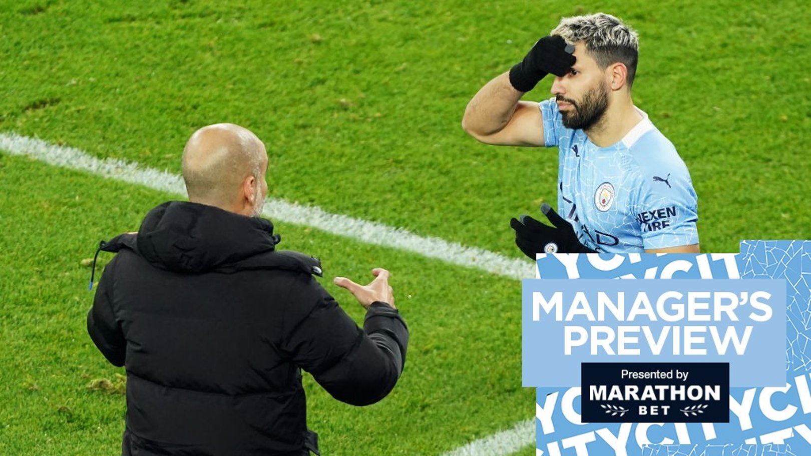 Aguero still has huge part to play says Guardiola