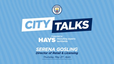 City TALKS: Serena Gosling