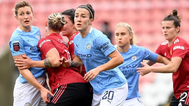 BEHIND ENEMY LINES: City draw 2-2 with Manchester United in the first women's derby to be hosted by the Reds