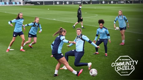 Training: Shaping up for the Community Shield