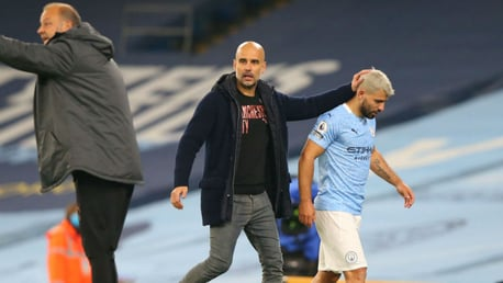 Guardiola: City must 'be careful' with Aguero return