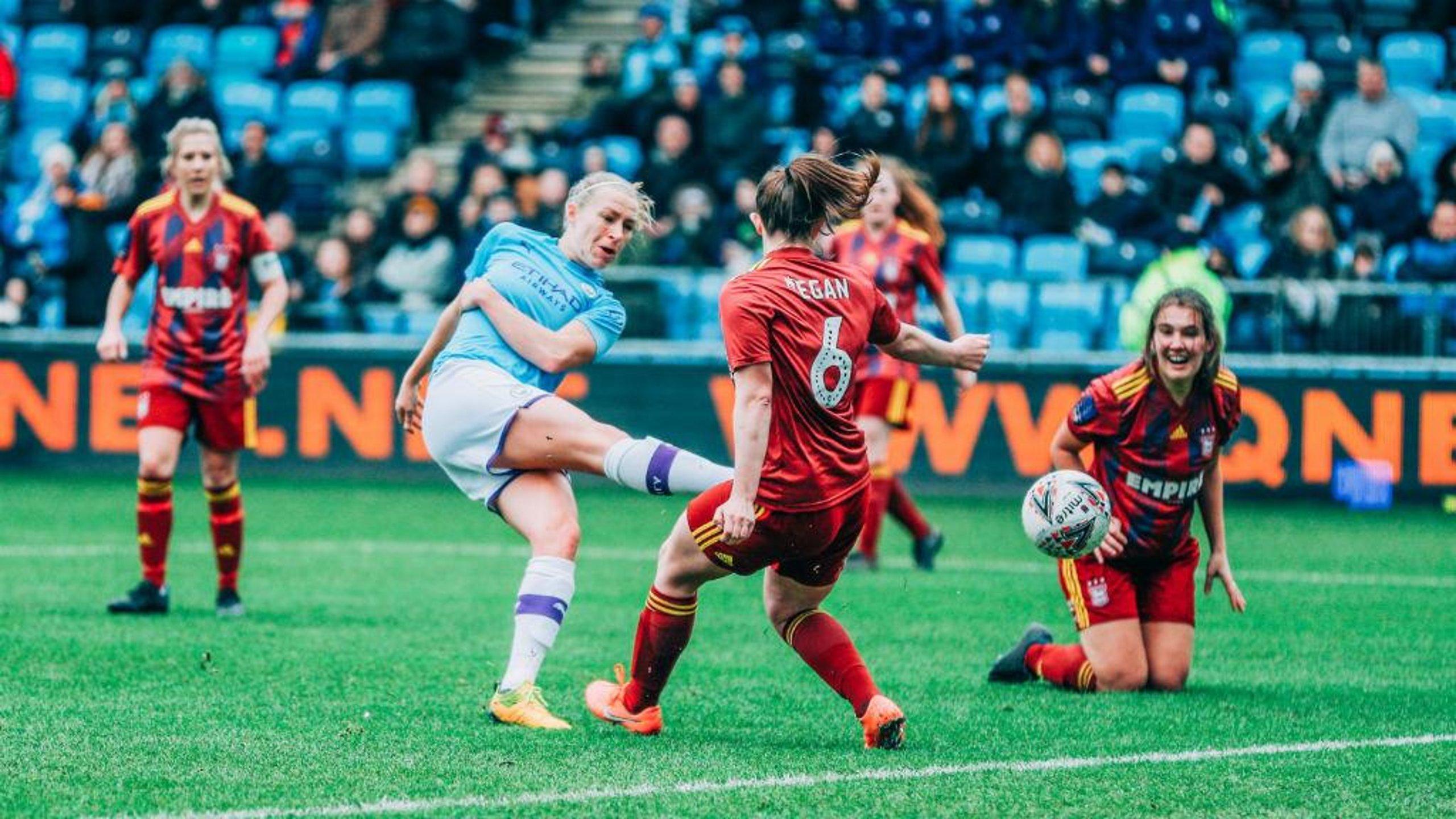 City score 10 to reach FA Cup quarter-final