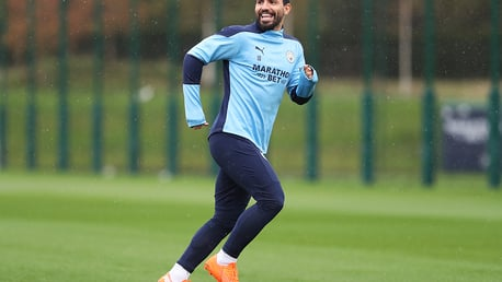 Gallery: Aguero, Stones and Gundogan sharpening up