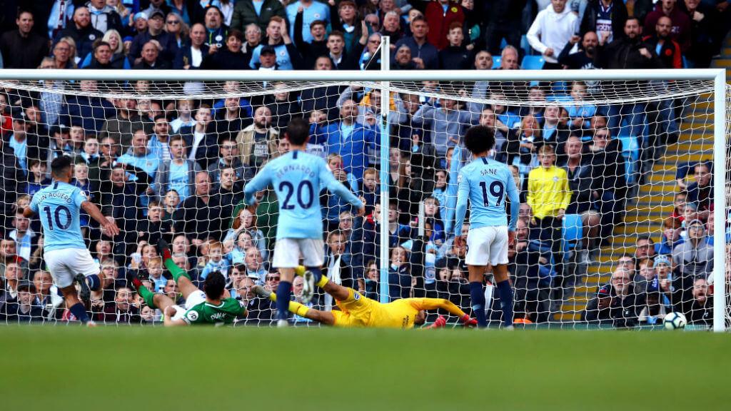 City climb to summit with win over Brighton