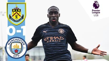 Highlights: Burnley 0-1 Under-18s