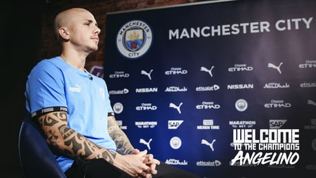"""Angelino: """"Estou empolgado de voltar ao City"""""""