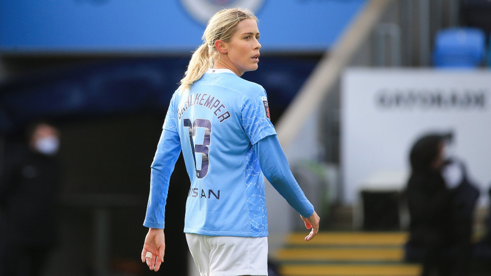Dahlkemper: City's style has improved my game