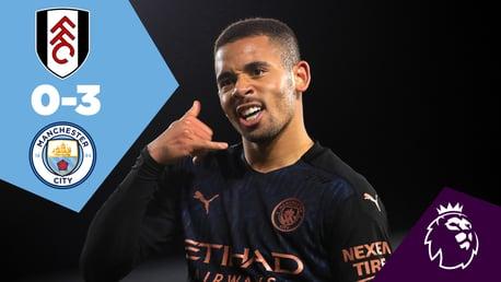 Fulham 0-3 City: Full Match Replay