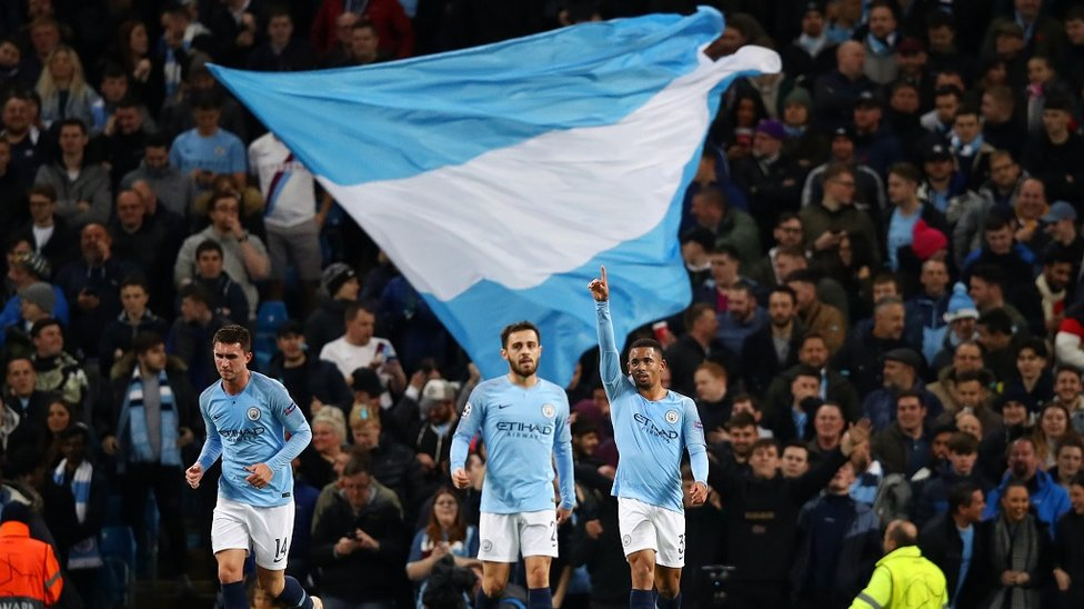 FLAGGING : Gabriel Jesus ensures it's a long night for Shakhtar