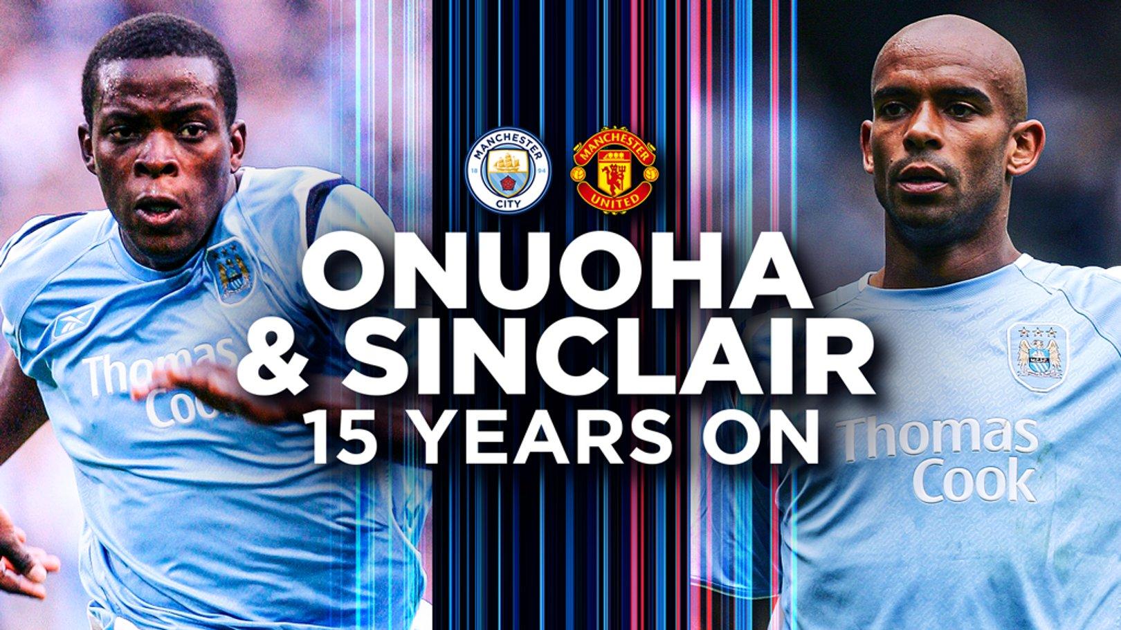 Nedum Onuoha and Trevor Sinclair: When derby dreams come true