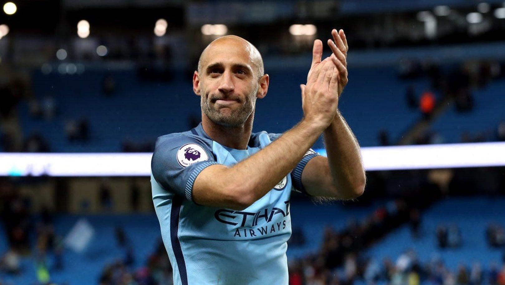 Club legend Pablo Zabaleta announces retirement