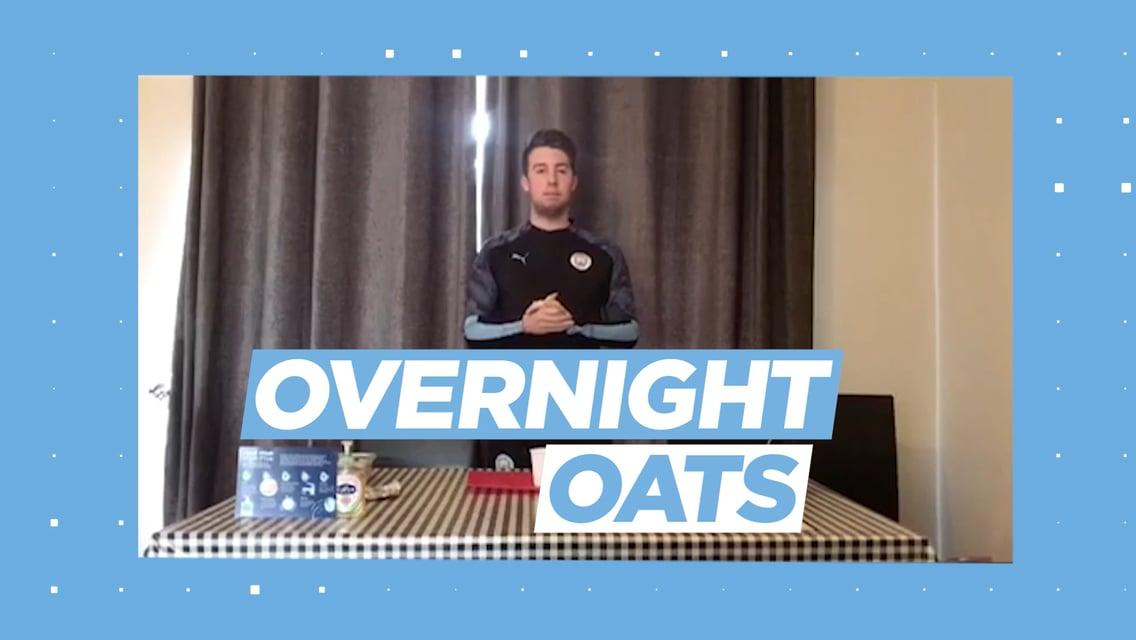 Learning through football: Overnight oats