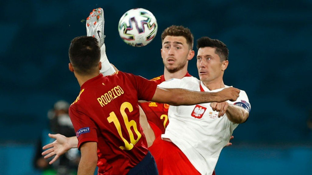 Frustration for City trio as Spain are held by Poland