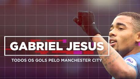 Gabriel Jesus todos os gols pelo City